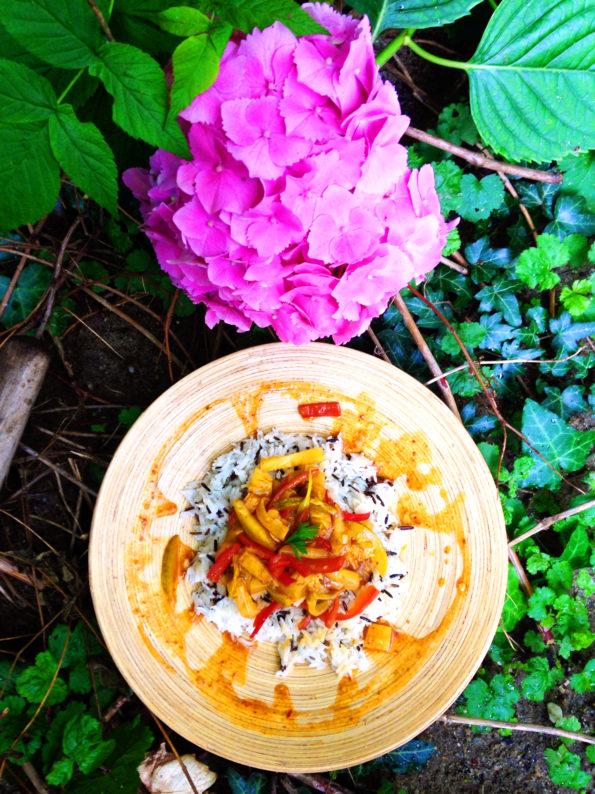 Orez thailandez cu ananas
