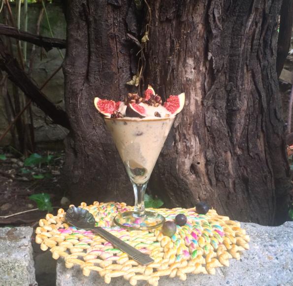 Inghețată veg praline și cocos